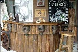 Rustic Style Furniture Pueblo Bar Home Furnishings Lodge Cabin Log Theme