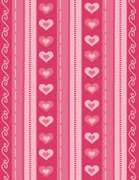Free Printable Valentines Day Scrapbook Paper And Love Coupons