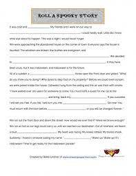 Halloween Mad Libs Pdf by Spooky Story Fill In The Blank Parents Scholastic Com