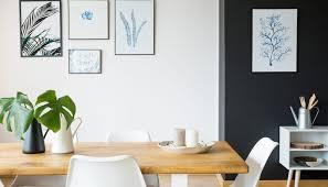 modernes esszimmer mit dekoration als wohnidee