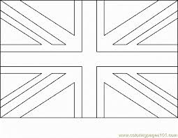 British Flag Coloring Page Picture Super