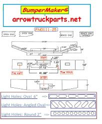 100 Arrow Truck Parts BumperMaker Kenworth T800 Bumper Highway