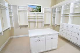 White Storage Cabinets For Living Room by White Stained Wooden Walk In Closet For Clothes Hanging And Shoe