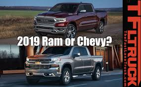 2019 Chevy Silverado 1500 Vs 2019 Ram 1500 Specs Comparison - The ...