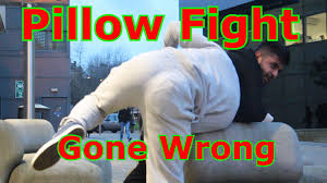 The ultimate pillow fight prank GONE WRONG