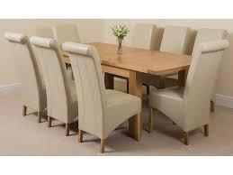 essgruppe sairsingh mit ausziehbarem tisch und 8 stühlen