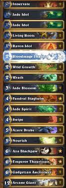 amaz jade golem druid deck mean streets of gadgetzan hs decks