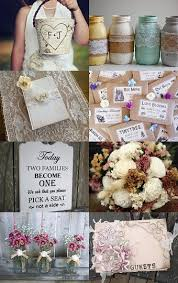 Shabby Chic Wedding Decor Pinterest by 301 Best Wedding Shabby Chic Country Decor Images On Pinterest