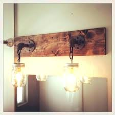 Rustic Lighting For Bathrooms Unique Design Ideas Homemade Light Designer Inspiration