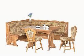 echtholz truheneckbank eiche rustikal natur esstisch 2 stühle eckbankgruppe ebay