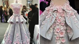 This Beautiful Wedding Dress Is Actually A Cake