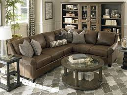 Brilliant Rustic Leather Sectional Sofa With Best 25 Sofas Ideas On Pinterest