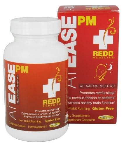 Redd Remedies at Ease PM 30 vegcaps