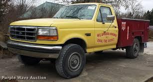 100 Ford F250 Utility Truck 1993 XLT Utility Truck Item J5732 SOLD Decemb