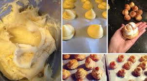 recette des mini choux au caramel beurre salé dollyjessy