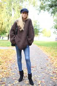 the oversized sweater an autumn style staple just the design
