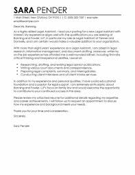 Secretarial Cover Letters For Resumes Resume Examples Templates Sample Legal Assistant Letter Secretary With Salary Requirements