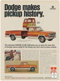 1973 Dodge Club Cab Pick-Up | Ad-Truck/Van | Pinterest | Dodge ...