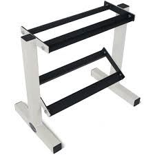 Titan Garages And Sheds by Titan Fitness 2 Tier Dumbbell Rack Stand For Workout Weights