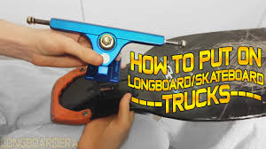 How To Put On Longboard Or Skateboard Trucks By LongboardEra - YouTube How To Clean Skateboard Longboard Wheels And Trucks Fitfelix1 187mm Gullwing 10 Siwinder Ii Raw Truck Tiny Skateboard Skateboard Amino Put Together A 5 Steps With Pictures Cut Drop Through Mounts On 7 Gopro Mount Tips Tricks Youtube Amazoncom Ohderii Skate Skateboards 31 X 8 Cruiser Boardlight Put Or Trucks By Longboardera