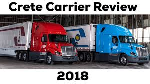 100 Crete Trucking Carrier Shaffer Review Training Company Driver