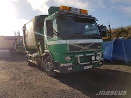 Used Volvo Sidolastare FM7 Garbage Trucks / Recycling Trucks Year ...