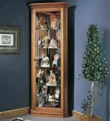 loon peak palisade lighted corner curio cabinet reviews