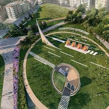 100 Architects Wings ONZ To Transform Abandoned Stadium Into Ecopark