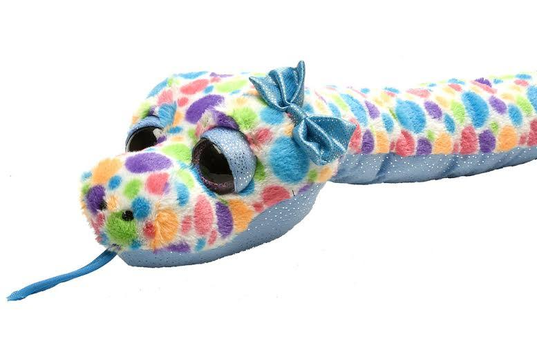 Wild Republic Sweet and Sassy Snake Polka Dots Plush Toy - 54""