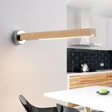 zmh wandleuchte led wandle holz drehbar wandbeleuchtung wohnzimmerle rustikal wandstrahler hängele kaufen otto