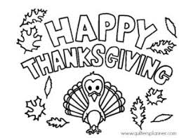 Thanksgiving Coloring Page For Kids Jpg With Watermark