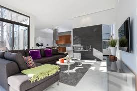 Grey And Purple Living Room Paint by Living Room Ideas Grey Interior Design Modern Living Room