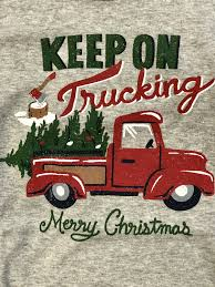 100 Bb Trucking 2018 Christmas Keep On Childrens Pajamas Unisex