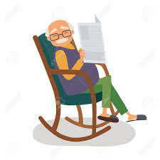 Old Man With Papernews In Her Rocking Chair. Vector Illustration Old Man In A Rocking Chair Drawing Amino Man In A Rocking Chair Stock Illustration Download Cartoon At Getdrawingscom Free For Personal Woman With Cat Her Vector Illustration Can We Live Longer But Stay Younger The New Yorker Ethnic Farmer Patingvalleycom Explore Tom And Jerry 036 Rockin 1947 Steve Gray Having Coffee Parot Saying Tick Tock Toc Of An Old Baby Art Reading News Paper Clipart 20 Free Cliparts