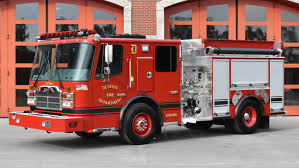 100 New Fire Trucks Ferrara Delivers Eight Custom Pumpers To The Detroit Department