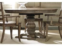 Hooker Furniture Sorella Pedestal Dining Table W 1 20 Leaf 5107 75203