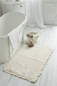 badläufer badteppich creme klein duschvorleger badmatte