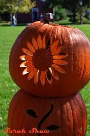 Halloween At Greenfield Village 2014 by Sunflower Carved Pumpkin Tower At Greenfield Village Via