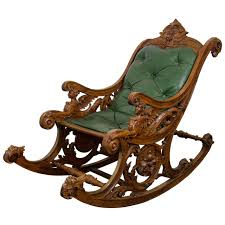 A 19th Century Carved Italian Rocking Chair W/Griffins And ... Antique Handcarved Wood Upholstered Rocking Chair Rocker Awesome The Collection Of Styles Antique Cane Rocking Chair Hand Carved Teak Wood Rocking Chair Fniture Tables Sunny Safari Kids Painted Fniture Wooden An Handcarved Skeleton At 1stdibs Old Retro Toy Stock Photo Edit Now India Cheap Chairs Whosale Aliba Andre Bourgault Wood Figures Lot Us 2999 Doll House 112 Scale Miniature Exquisite Floral Fabric Pattern Chairin Houses From Toys Hobbies On Grandmas Attic Auction Catalogue Gooseneck Carved Crafted Windsor By T Kelly
