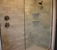 update bathroom tile without replacing top best shower makeover
