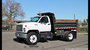 100 Single Axle Dump Trucks For Sale 1994 GMC C7500 TopKick 5 Yard Truck YouTube