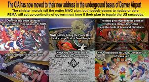 denver airport conspiracy murals denver international airport underground denver airport