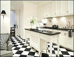 black white kitchen floor tile black white tile kitchen black