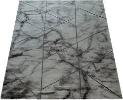 teppich kraft 524 paco home rechteckig höhe 17 mm kurzflor mit marmor design wohnzimmer kaufen otto