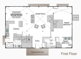 Interesting House Plans Pole Barn Blueprints 8 This Is The Floor