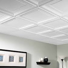 Vinyl Ceiling Tiles 2x2 by Genesis Ceiling Tile 2x2 Border Tile In White
