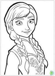 Disney Frozen Princess Anna Elsa Snowman Olaf Coloring Page For Kids 378x500