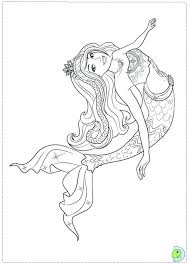 Coloring Pages Online Disney Princess For Kids Mermaid
