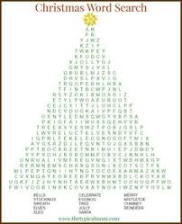 Christmas Word Search Printable Thats Free To Download And A Great Activity Do During The