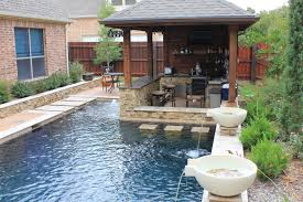 Outdoor Swimming Pool With White Waterfall And Water ... Backyard Gazebo Ideas From Lancaster County In Kinzers Pa A At The Kangs Youtube Gazebos Umbrellas Canopies Shade Patio Fniture Amazoncom For Garden Wooden Designs And Simple Design Small Pergola Replacement Cover With Alluring Exteriors Amazing Deck Lowes Romantic Creations Decor The Houses Unique And Pergola Steel Are Best